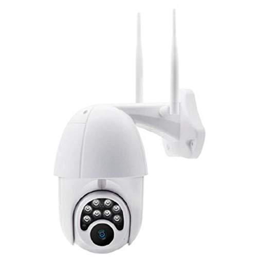 1080P PTZ Mini WIFI IP-Außenkamera mit 360 ° Pan / 110 ° Tilt Nachtsicht-Bewegungsmelder Micro-SD-Kartensteckplatz -