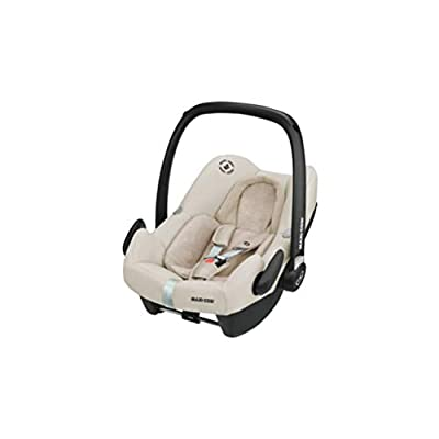 Maxi-Cosi Rock Baby Car Seat Group 0+, ISOFIX, i-Size Car Seat, Rearward-Facing, 0-12 m, 0-13 kg, Nomad Sand