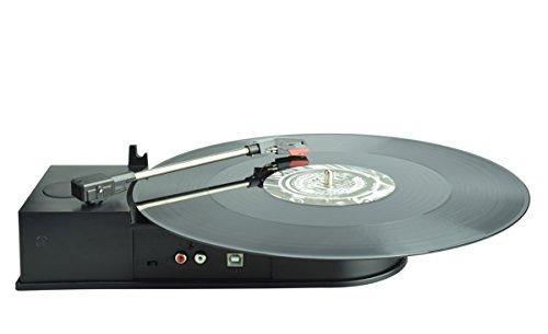 DIGITNOW! Portable Mini USB Vinyl Plattenspieler Aufzeichnung auf Mp3 CD Konverter - Audio Conversion Plattenspieler Adapter - Unterstützt Windows / Mac (Konverter Cd-mp3)
