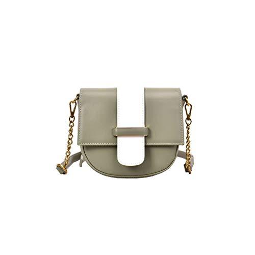Mitlfuny handbemalte Ledertasche, Schultertasche, Geschenk, Handgefertigte Tasche,Damenmode Pure-color Slant Bag Einzelner Schulterbeutel Geldbeutel Kuriertasche Trek Messenger