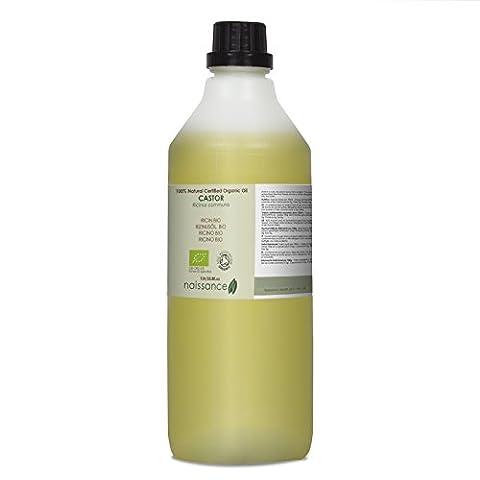 Naissance Huile Végétale de Ricin Certifiée BIO 100% naturelle - 1L