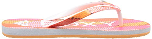 Roxy Rg Pebbles V, Tongs fille Multicolore (Pink/Pink)
