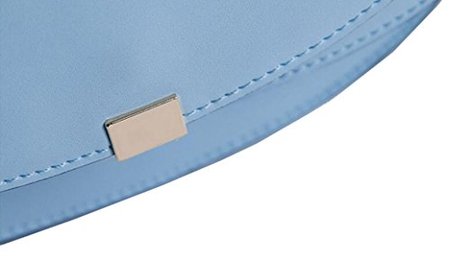 Ms. Messenger Bag In Pelle Blue