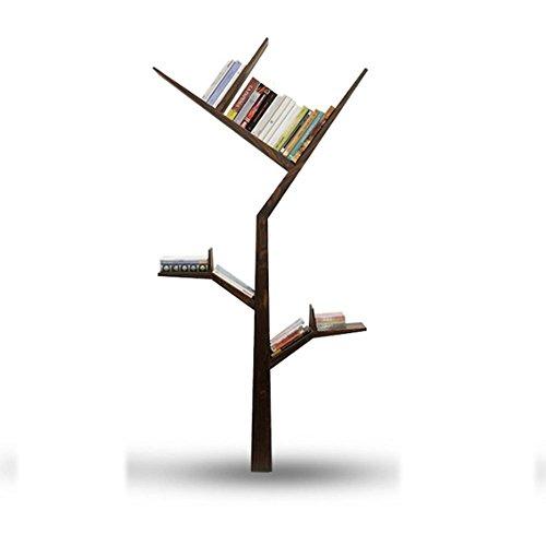 AJZGF Baum Regale Einfache Regale Kreative Regale Schlafzimmer Bücherregal Teiler Holz Regal (...