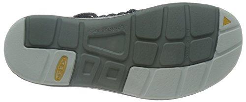 Keen Uneek 8mm Camo, Scarpe da Escursionismo Uomo, Nero/Blu, Taglia Unica Mehrfarbig (Black/Camo)