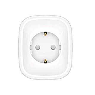 Wifi Smart Steckdose, Budalga Intelligent Wifi Fernbedienung Steckdose Smart Plug Kompatible mit Amazon Alexa und Google Home Kontrolliert von Android und iOS Application mit Timing Funktion 1pcs