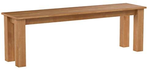 Krok Wood Sitzbank Bonn aus Massivholz in Buche 140x35x45 cm