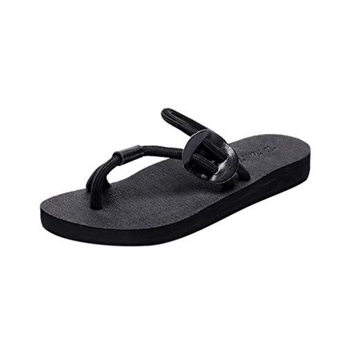 Wawer Damen Casual Sandalen Mode 2019 Bohemia Strand Slipper Flache Schuhe Beach Walking Schuhe
