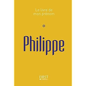 Le Livre de mon prénom - Philippe 05