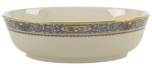 Lenox Herbst Gold-Banded Fine China erfolgt 5-teiliges Set, Gold, Open Vegetable Bowl Lenox China Open Vegetable Bowl