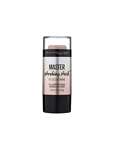 Maybelline Master Strobing Stick Nr. 100 Light Iridescent, schimmernder Highlighter in Stiftform, mit lichtreflektierenden Pigmenten, 9 g