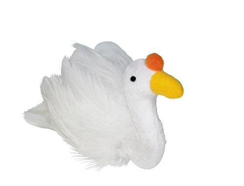 Nobby Plüsch Ente mit Catnip  10 cm -