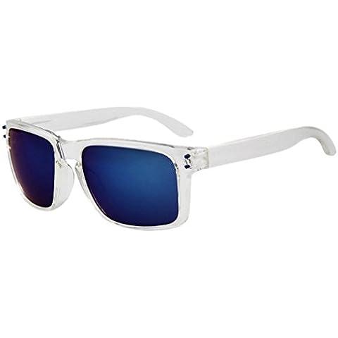 La vogue Sunglasses Gafas de Sol Estilo Vintage Wayfarer Hombro Mujer Adulto Color 2