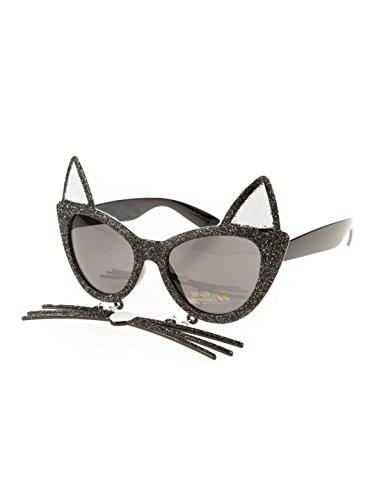 Brille Katze mit Schnurrhaaren Keine Größe