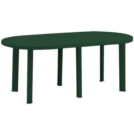 Tavolo Progarden resina 180 verde 181x90
