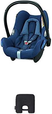 Bébé Confort Cabriofix Seggiolino Auto 0-13 kg, Ovetto Gruppo 0 +, 0-12 Mesi, Nomad Blue, con Dispositivo Anti