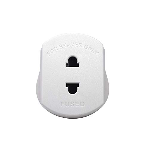 USA UK-Stecker-Adapter Wandelt 3 pin USA Stecker zu 2-Prong Grounded britischen Wand Plug 1pc Weiß - 3-stift-wand-adapter