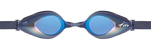 VIEW Schwimmbrille Solace Mirror, Black/Blue, V-825AMR BK/BL