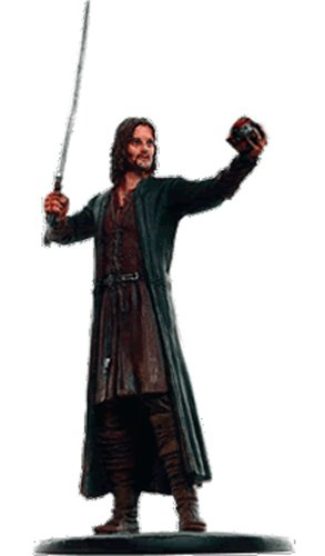 Lord of the Rings Señor de los Anillos Figurine Collection Nº 160 Aragorn 1