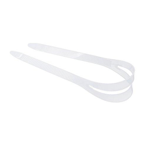 Fenteer Maskenband Silikon Tauchen Sport Ersatzteil - Klar S