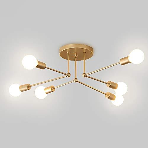 6/8 Luz Moderna Luz de Techo Sputnik