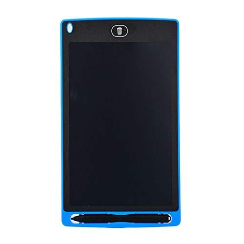73JohnPol 8,5 Zoll Kreatives Schreiben Zeichentablett Notizblock Digital LCD Grafikkarte Handschrift Pinnwand für Bildungsunternehmen & (Farbe: blau)