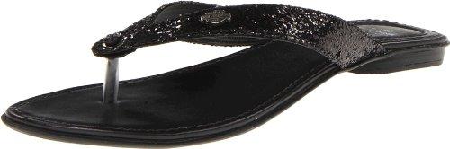 n's Zetta Slide Sandal,Black Sparkle,6.5 M US (Black Sparkle Boots)