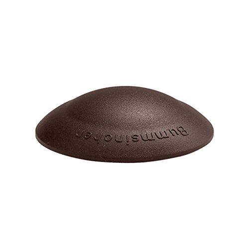 Türstopper Bummsinchen Türpuffer Wandpuffer selbstklebend und schraubbar für Wand und Boden 40mm by parkett-werk (braun, 10 Stück)