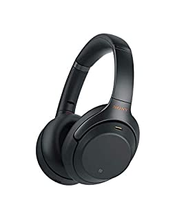 Sony WH-1000XM3 Bluetooth Noise Cancelling Kopfhörer (30h Akku, Touch Sensor, Headphones Connect App, Schnellladefunktion, Amazon Alexa) schwarz (B07GDR2LYK) | Amazon Products