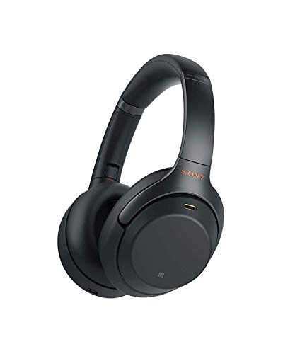 Sony WH-1000XM3 Bluetooth Noise Cancelling Kopfhörer (30h Akku, Touch Sensor, Headphones Connect App, Schnellladefunktion, Amazon Alexa) schwarz (Sony Bluetooth Kopfhörer)