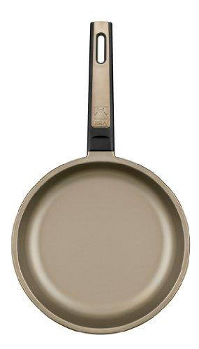 BRA Terra   Set de 3 sartenes  18 22 26 cm  aluminio fundido  aptas para todo tipo de cocinas incluido inducción