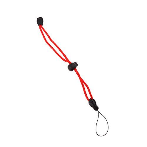 Sharplace Einstellbare Nylon Handschlaufe für Unterwasser Kamera Tauchen Fotografie Handgelenk Schlaufe für Taucherlampe - Rot (Kamera Taucher Tauchen Unterwasser)