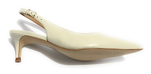 Guess Footwear Dress Sling Back, Scarpe Col Tacco Punta Chiusa Donna Avorio (Ivory)