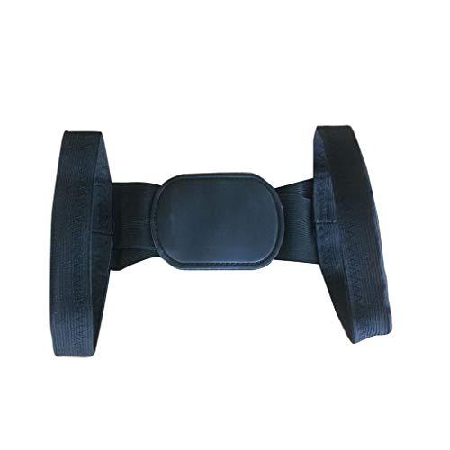 SatinGold Geradehalter zur Haltungskorrektur - Haltungskorrektur Rücken Herren Damen,Rückentrainer Rückenstütze Schultergurt Haltungstrainer Posture Corrector,für Nacken (Schwarz)