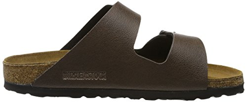 Birkenstock Arizona Birko-Flor, Mules Mixte Adulte Braun (Pull Up Brown)