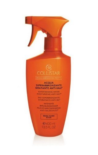 Acqua superabbronzante anti-sale SPF0 di Collistar, Acqua Solare Unisex - Spray 400 ml.