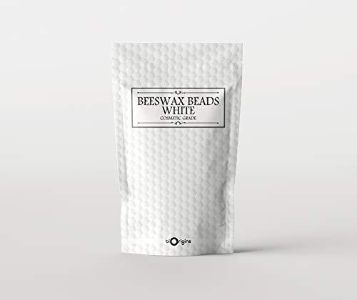 Bienenwachs Perlen Raffiniert Weiß 500g -