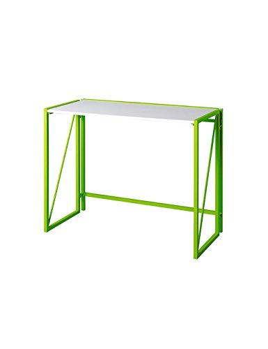 Creative Learning Simple Ordinateur De Bureau Bureau Bureau Table Pliante Vert