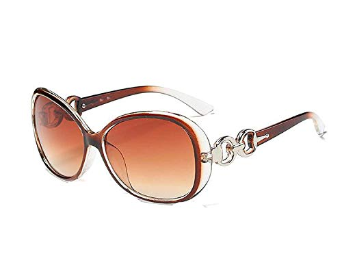 WERERT Sportbrille Sonnenbrillen Fashion Vintage Big Female Sunglasses Women Feminine Sun Glasses Women's Pixel Glasses