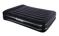 Bestway Luftbett Comfort Quest Premium Plus Queen Size mit Eingebauter Pumpe, 203 X 152 X 46 cm, 67403