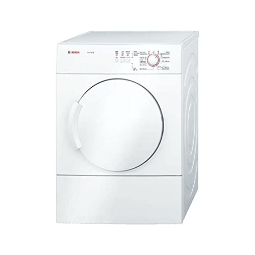 31S3 1dJSnL. SS500  - Bosch Classixx WTA74100GB Free-Standing Tumble Dryer, Front Load, 6 kg Capacity, Energy Efficiency Class C, White (Free-Standing, Front Load, Drainage, White, Buttons, Control Dial, Right-Hand Hinge)