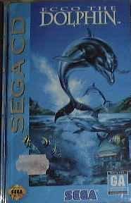 Ecco the dolphin - Mega CD - PAL Ecco Berlin