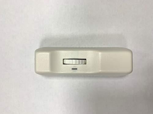 2 Core Drehdimmer 160 W, 240 V, Weiß -
