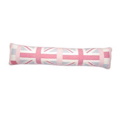 Motif Union Jack rose-Boudin de porte