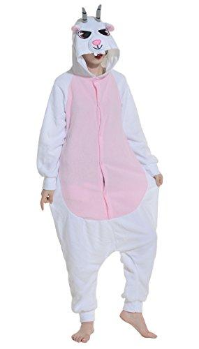 Imagen de dato ropa de dormir pijama cabra cosplay disfraz animal unisexo adulto