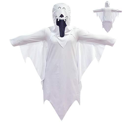 OrdesPan Halloween, Geist Kostüm-Kind-Maske Frauen Männer Cosplay Robe Scary Hut, (Unsichtbare Alien Kostüm)