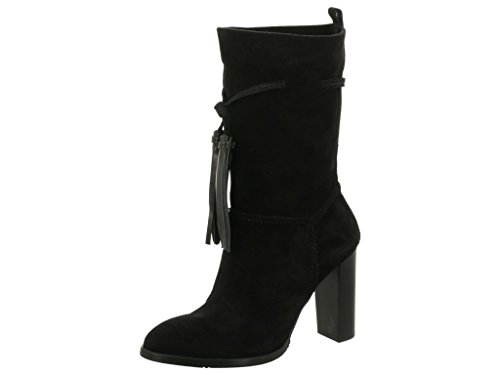 Tommy Hilfiger Fw56821493-990, Bottes pour Femme Noir