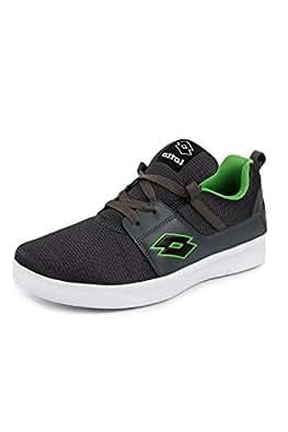LOTTO Men String Grey /Green RUNNING Shoes 6 UK/India