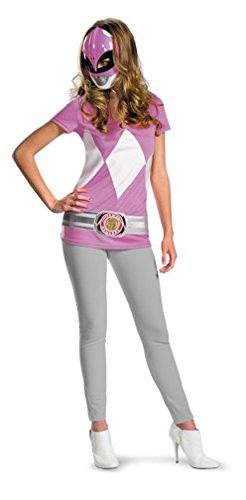 ngers Kostüm für Damen rosa Einheitsgröße ()