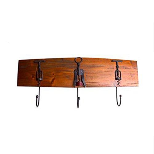 popa American Industrial Retro Style Hook Up Ferro Hanging ganci appendiabiti gancio solido muro Appendiabiti in legno decorazione della parete della decorazione della casa Hook Up risparmio energetico